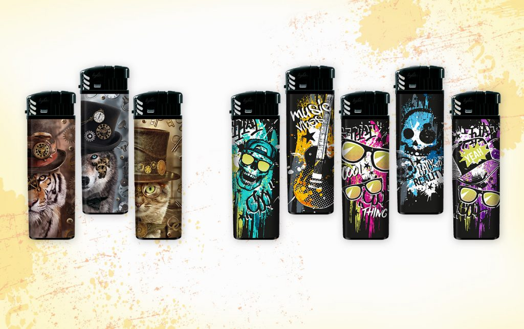 coole Feuerzeug Designs mit Thema Rock Steampunk für Teens